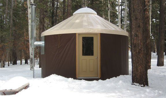 North Rim Yurt | Photo courtesy of Grand Canyon National Park