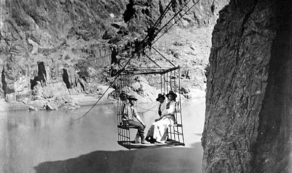 Rust's Cable Car over the Colorado River
