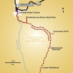 Cottonwood Canyon Map